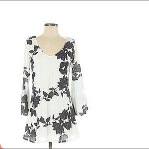 Haoduoyi lace  sleeve dress